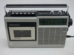 National-Panasonic-Portable-FM-MW-Radio-Cassette-Player